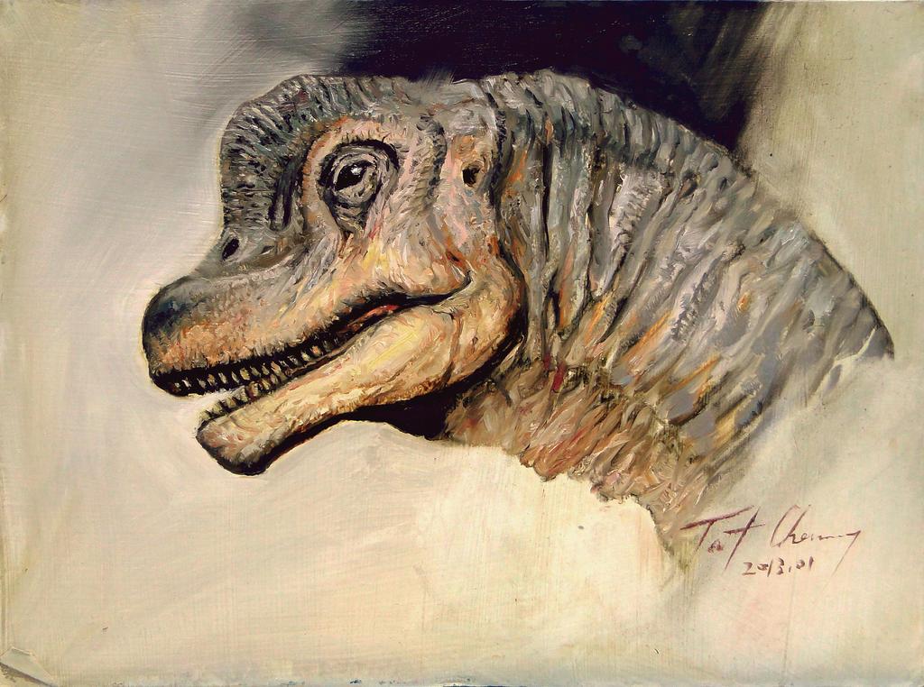 Study of JP1 Brachiosaurus Head by cheungchungtat