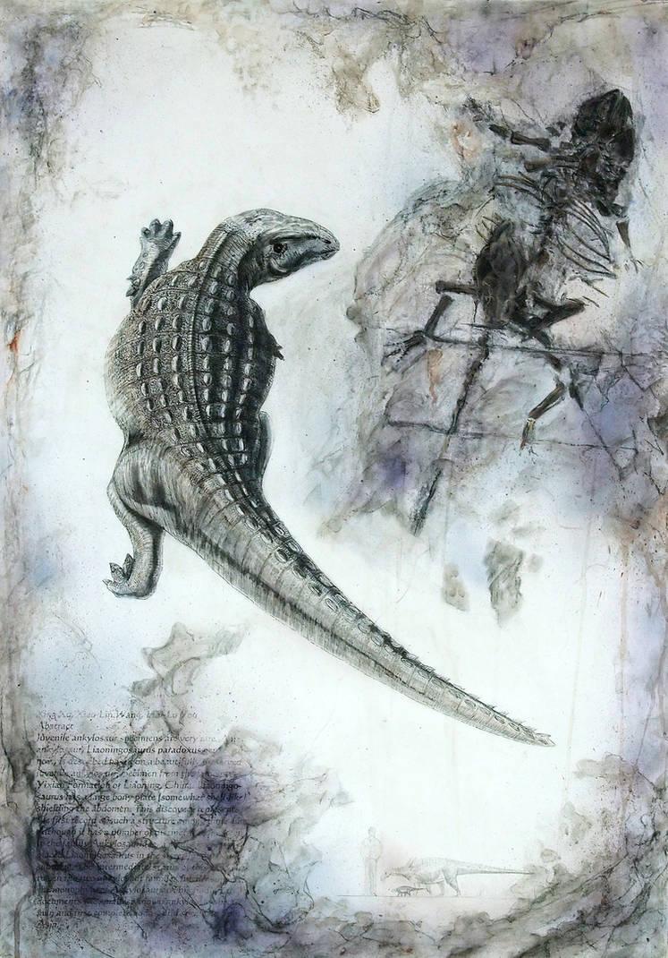 Jehol Biota--Liaoningosaurus paradoxus by cheungchungtat
