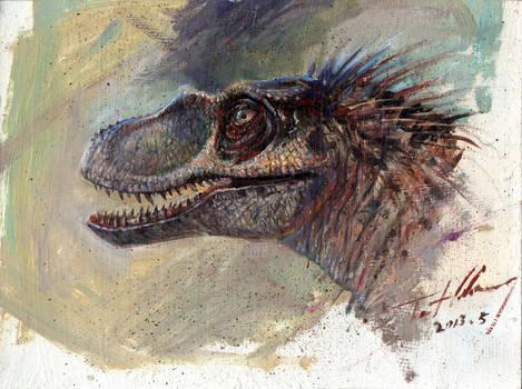 JP3 Female Raptor Head
