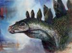 JP2 Stegosaurus Head