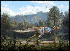 Carnotaurus sastrei by cheungchungtat