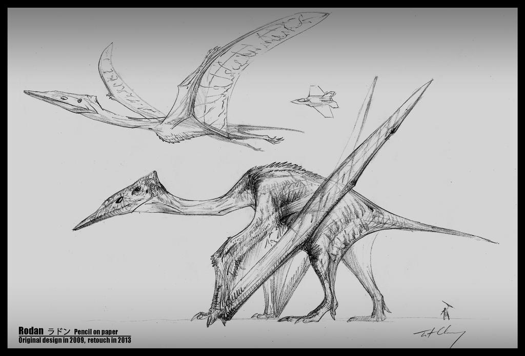 Rodan -- Pterosaurs form by cheungchungtat on DeviantArt