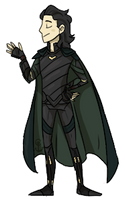 Loki Ragnarok Pagedoll by CaptainLEM