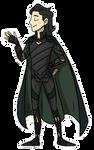 Loki Ragnarok Pagedoll
