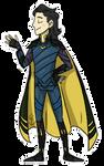 Loki Ragnarok Sakaar Pagedoll by CaptainLEM