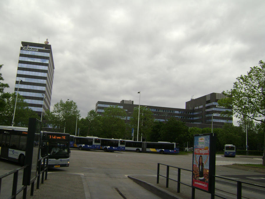 Bus station, near train station, Eindhoven by TammuzAsmodeus