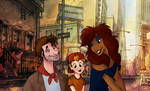 Oliver and Company: Humanized!
