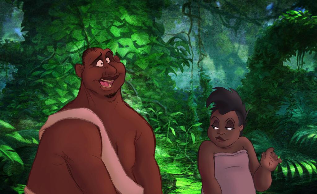Tarzan: Humanized!
