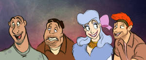 Oliver and Company: Humanized! (Pt.2)