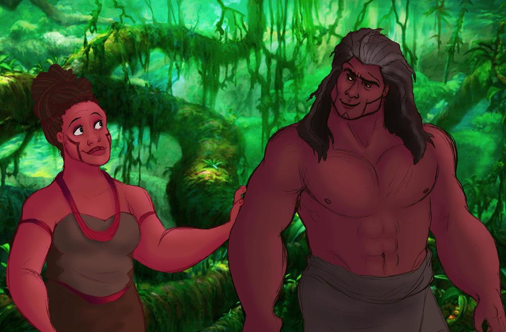Tarzan: Humanized! (Pt.2)