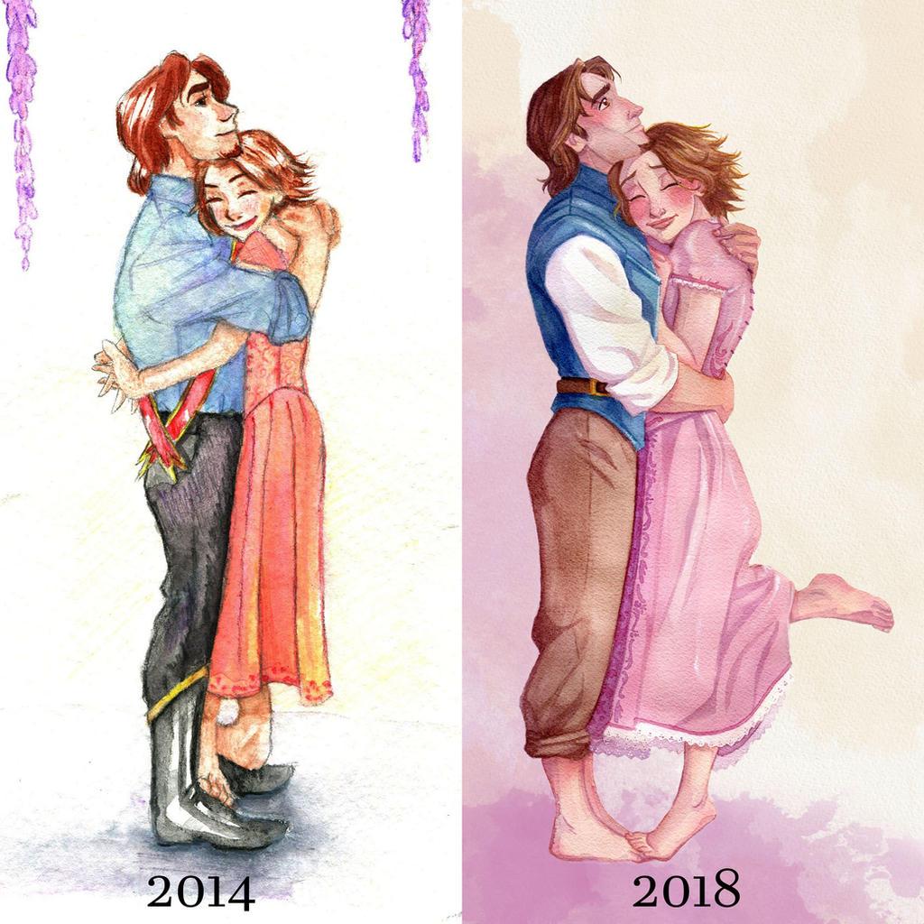 Art Improvement: Tangled 2018 by s0alaina