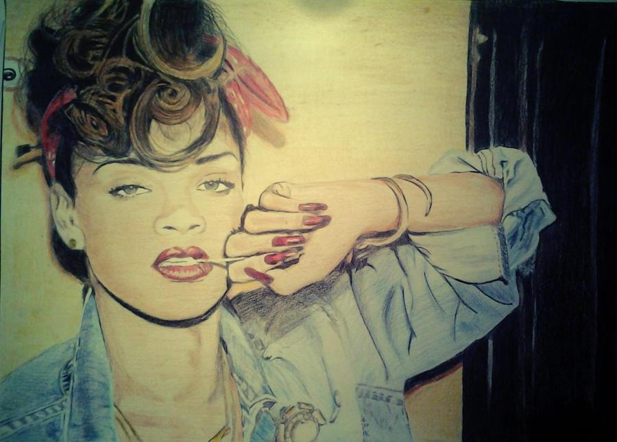 Rihanna by elinjoy