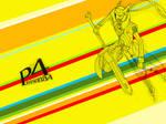 P4 : Persona 4 Izanagi Poster Design