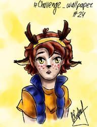 [GF] Cute deer by Flaky-Skarlet