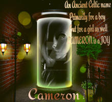Cameron   {Girls Name Poems}