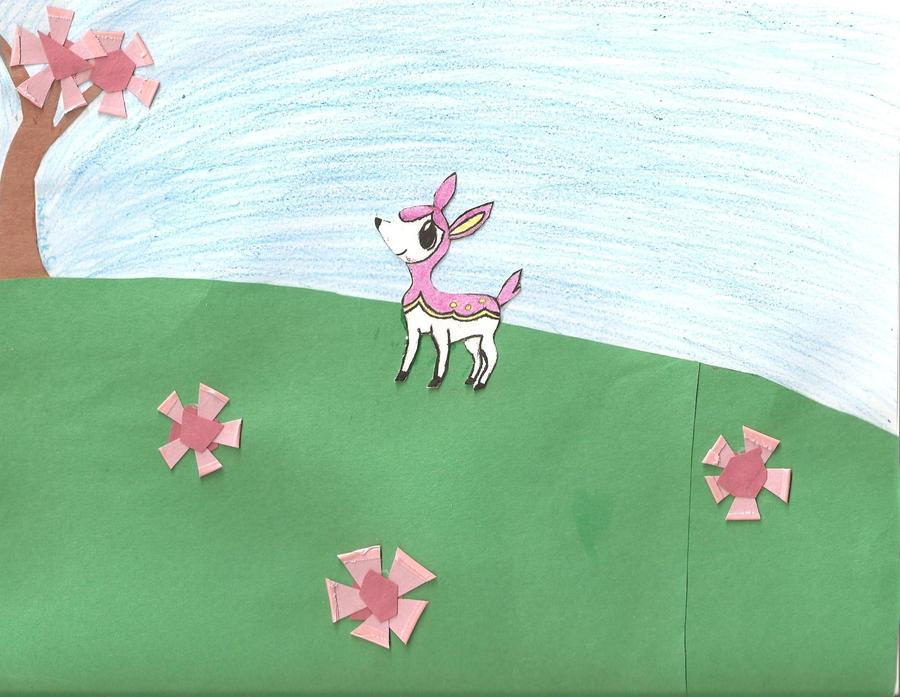 Deerling's walk by IceShadow3