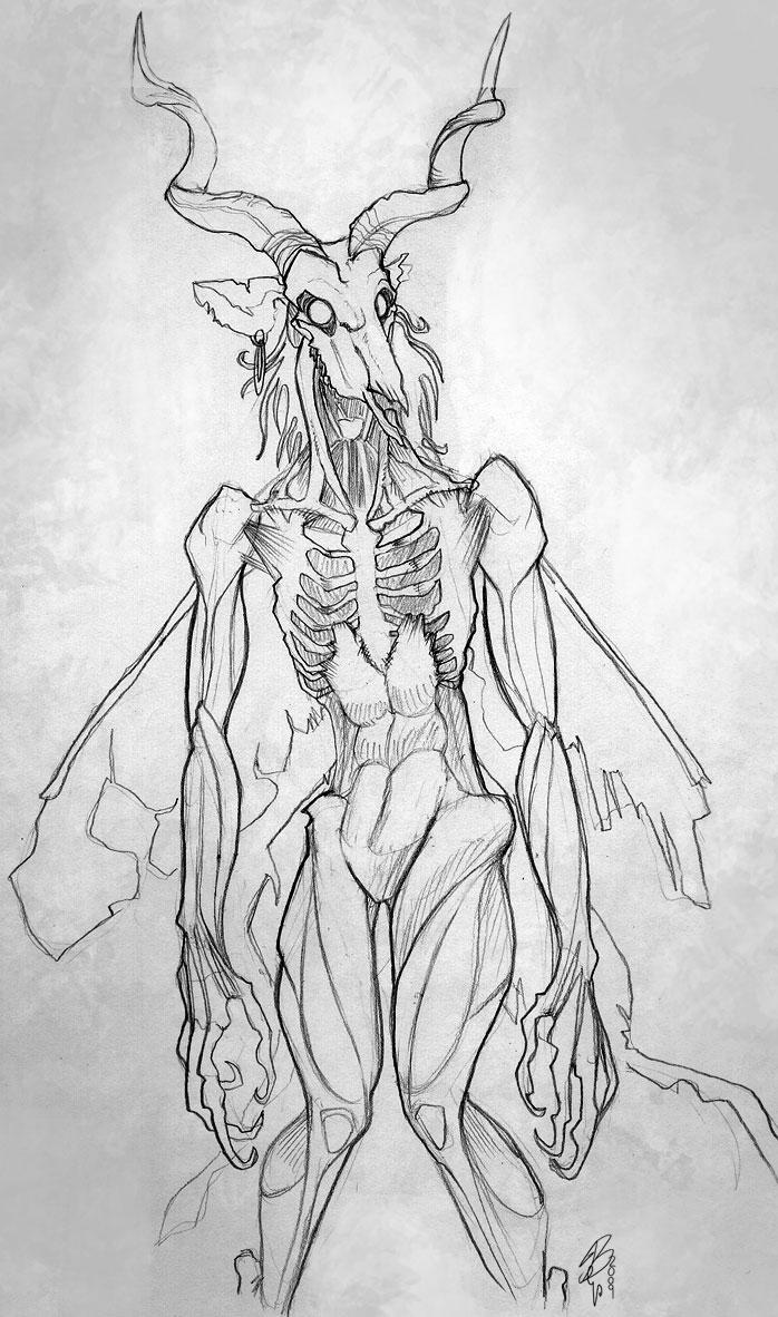 Zombie Horse Feather by zeralia on DeviantArt