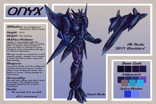 Onyx - OC TF Reference Sheet