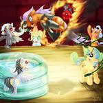 For Buzucat  four Pony OC and Pony avatar