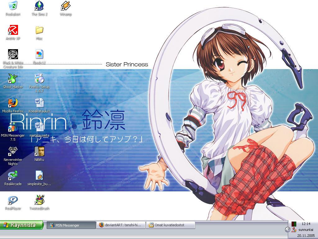 Mah desktop : D by Tenshi-Hikari