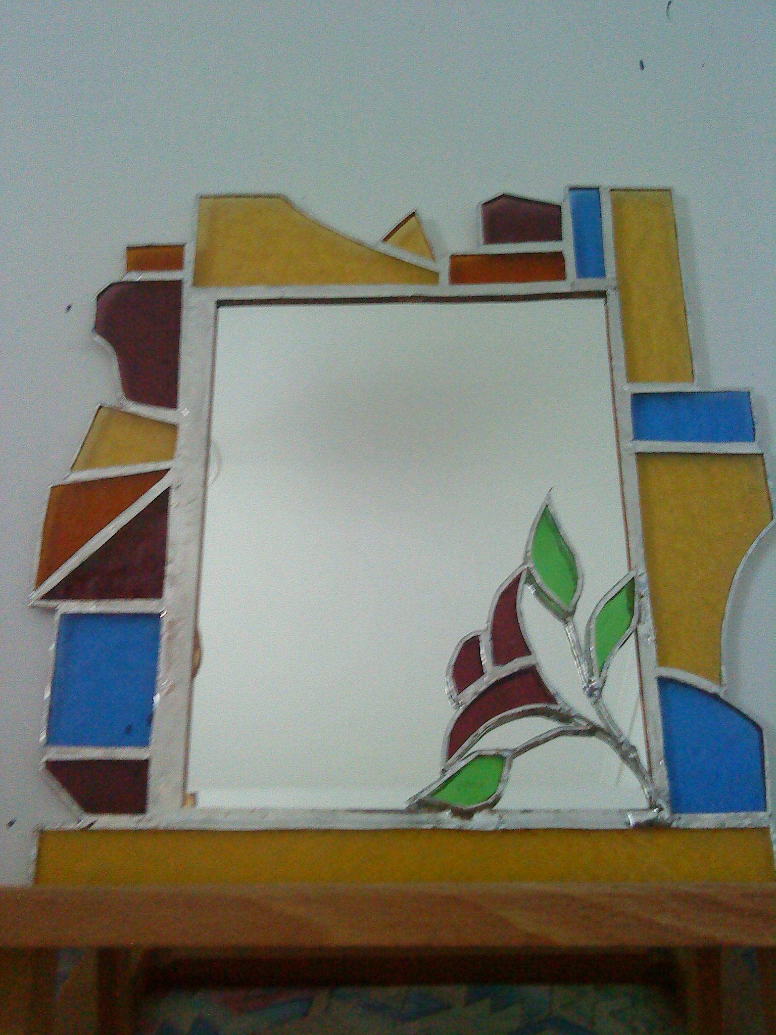 Stained Glass Mirror By Ritsasavvidou On Deviantart