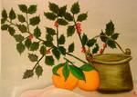 oranges and mistletoe by ritsasavvidou