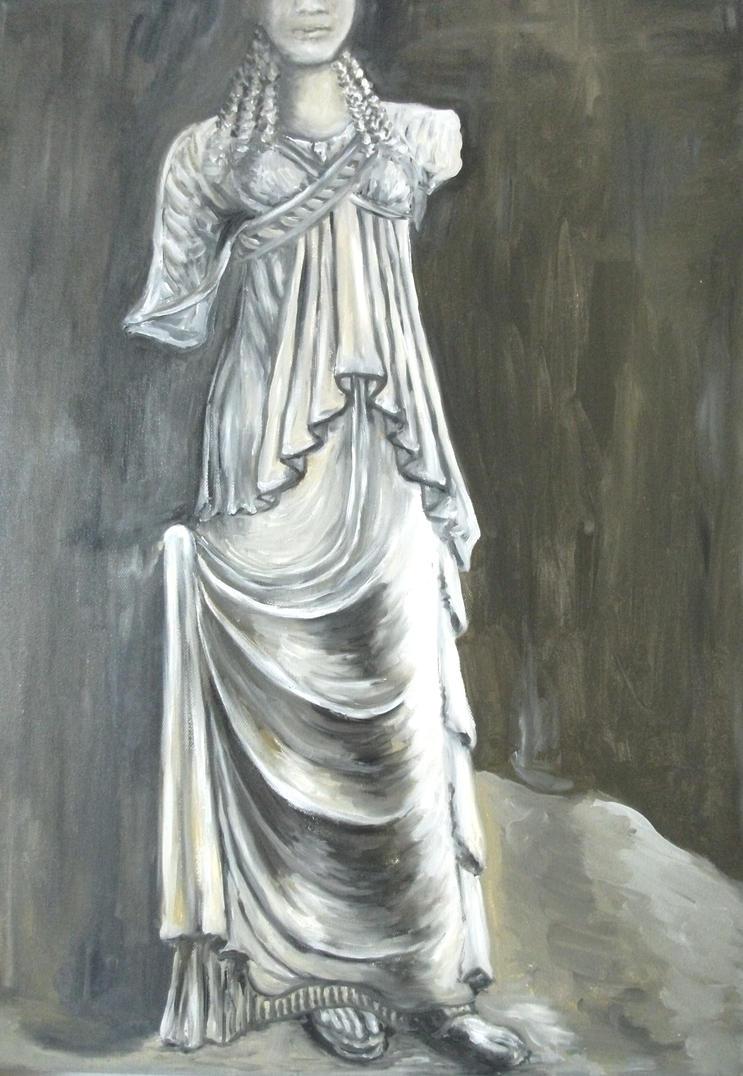 The Caryatid of Amphipolis by ritsasavvidou