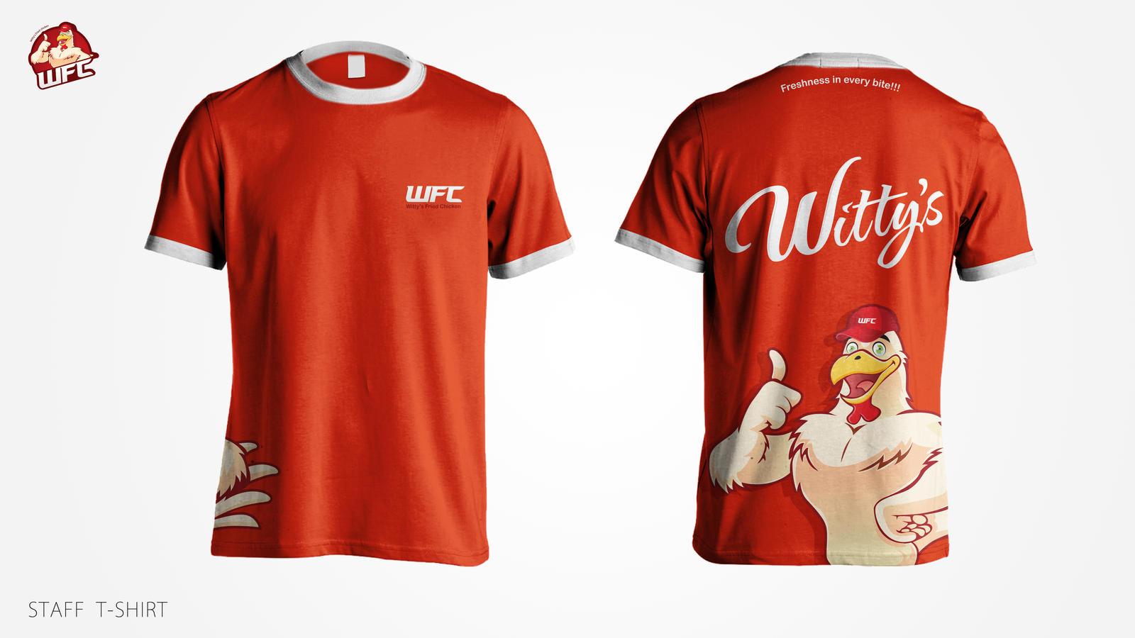 WFC T-shirt design Mockup by nabeelIbnHassan on DeviantArt