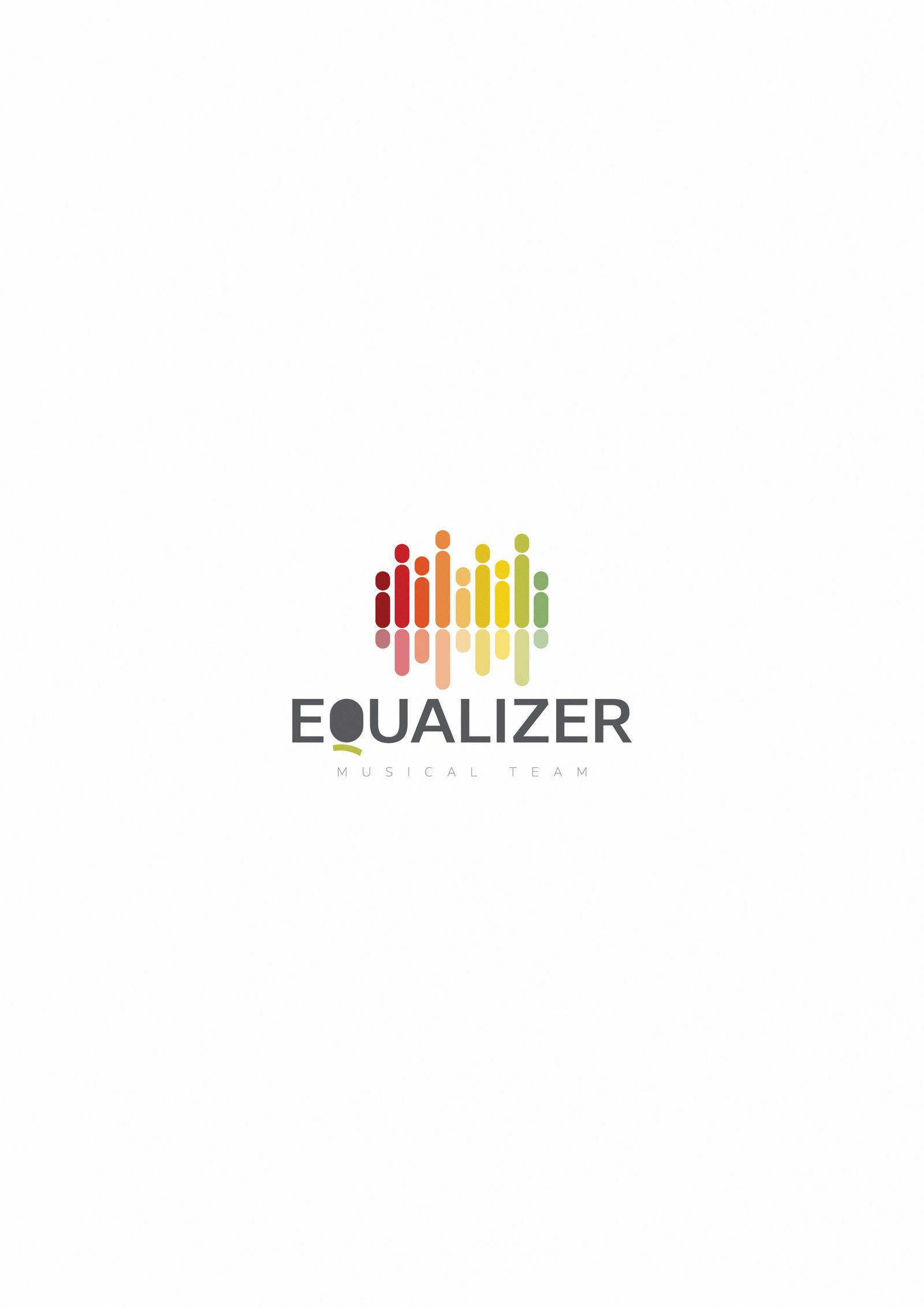 Equalizer logo design