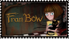 (ORIGINAL BY BabyWitherBoo) Fran Bow Stamp by Solo-The-Dragon
