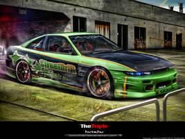 Nissan Silvia s13 tt by TheTriple