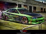 Nissan Silvia s13 tt