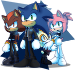 Detroit Become Sonic by RisziArts