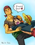 Zoro x Luffy Strong World