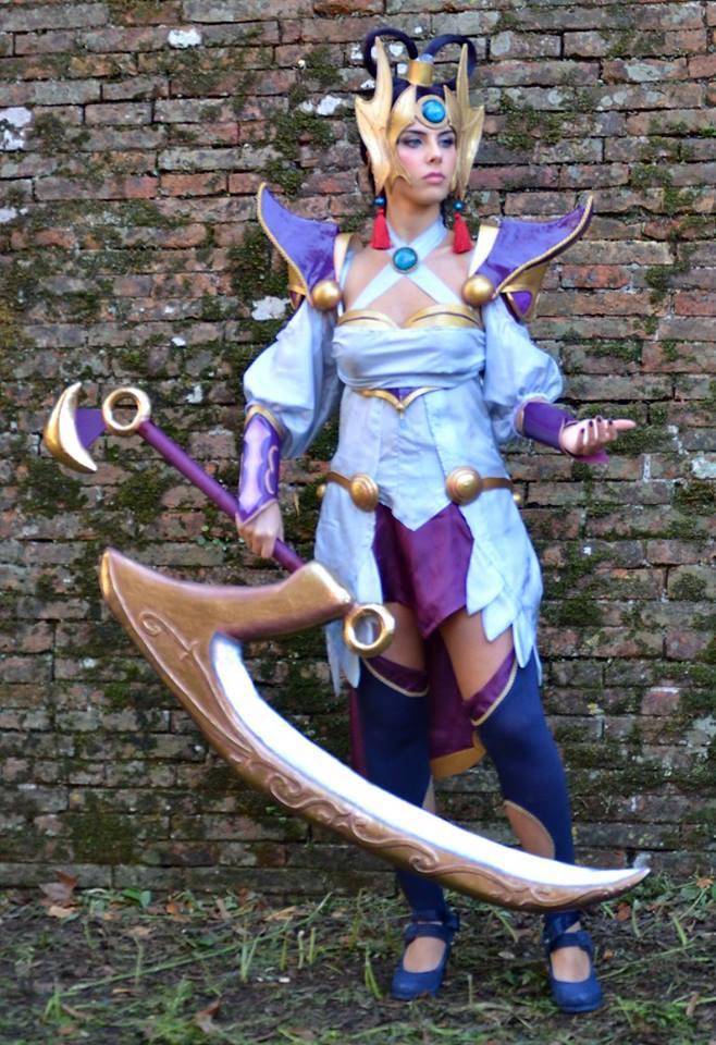 Diana Lunar Goddess cosplay by Aoi-Berry on DeviantArt