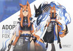 ADOPTABLE action 01 : Fire fox [Closed]