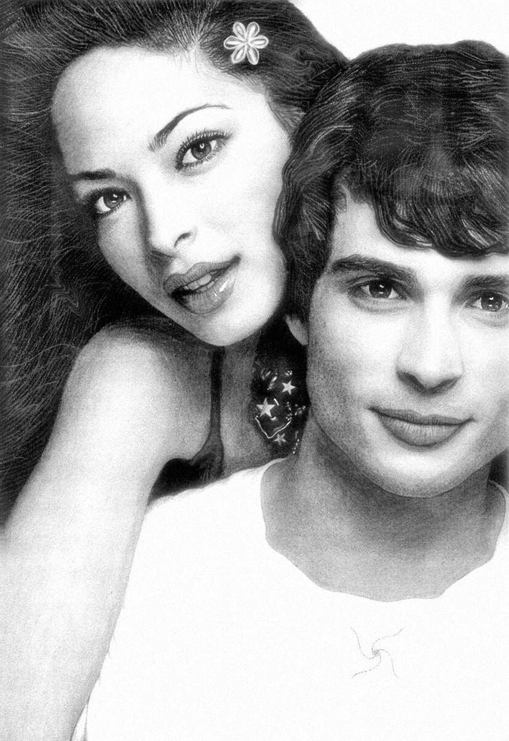 Kristin Kreuk and Tom Welling by ArtistsJointClub on ...