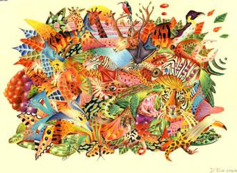 Jungle by danpurcell by ArtistsJointClub