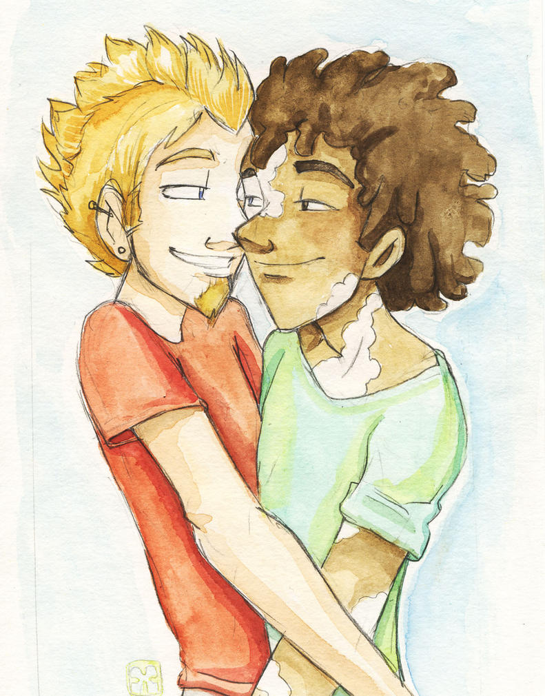 Jude and Jono by StressedJenny