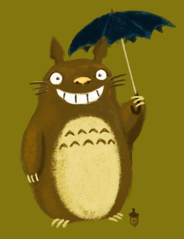Totoro by StressedJenny