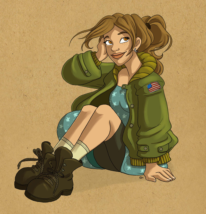 Anya by StressedJenny