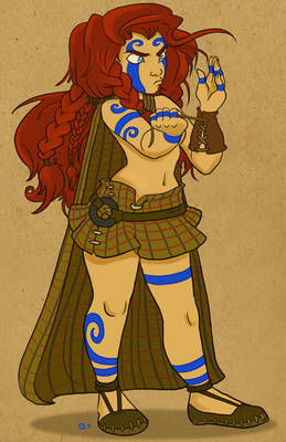 Young Boudica