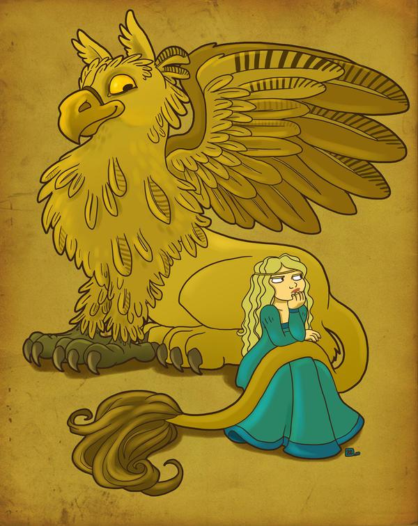 Griffin by StressedJenny