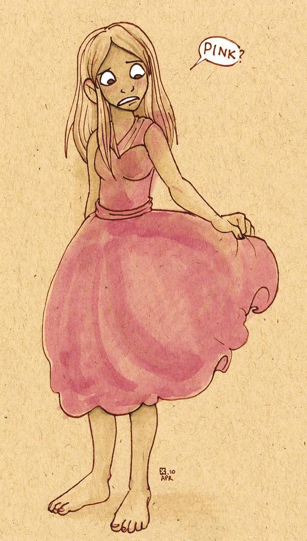 Pink by StressedJenny