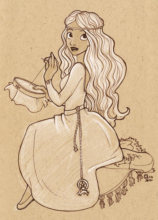 Lady Furze by StressedJenny