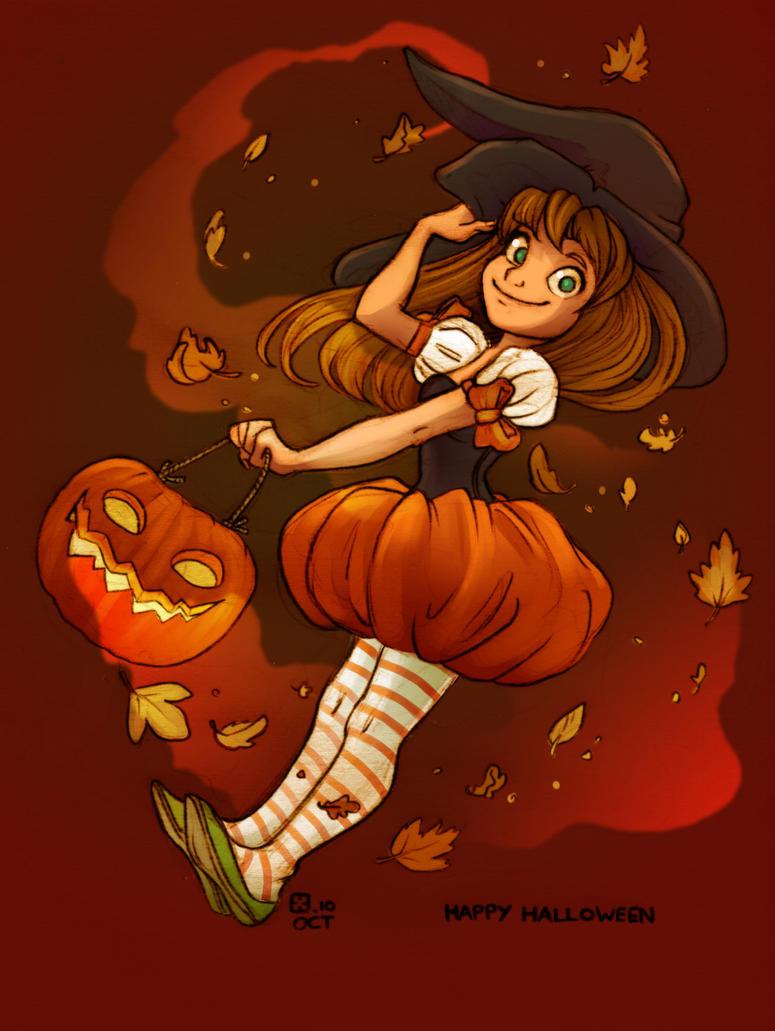 Happy Halloween by StressedJenny