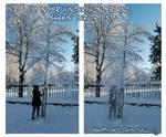 Merry Chr-IMA SHAKIN YER TREES