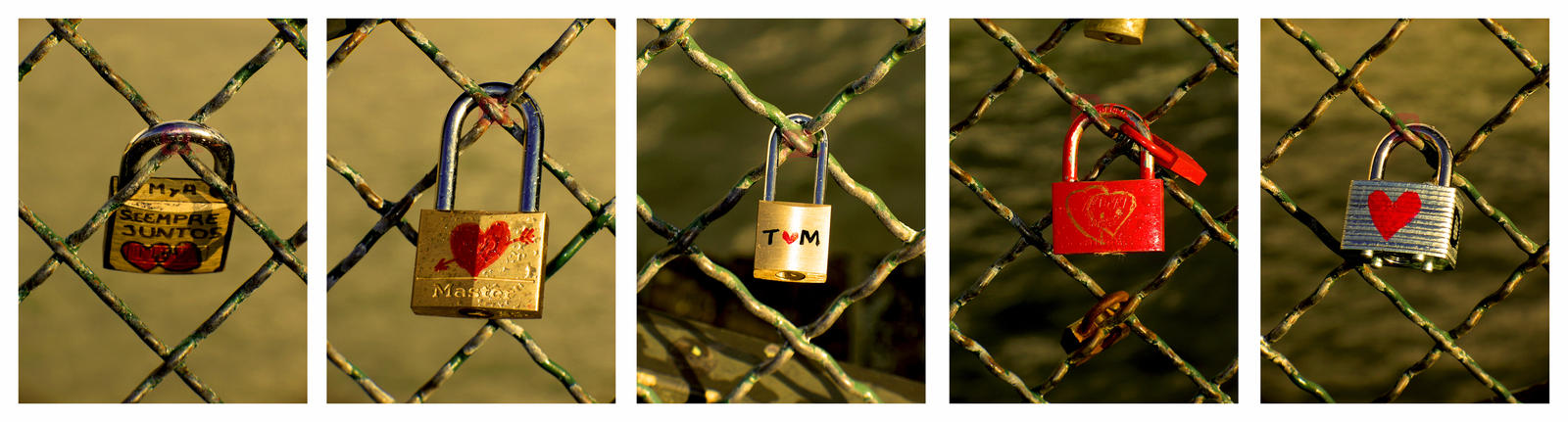 Valentines: Lock Heart by StressedJenny