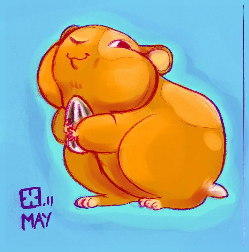 Hamster by StressedJenny