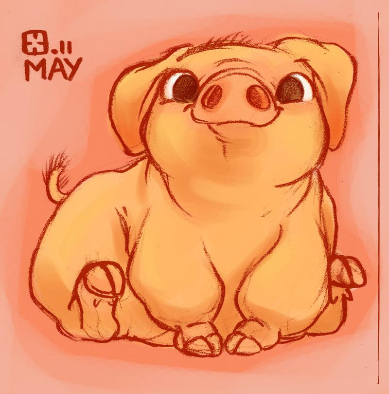Micro Pig by StressedJenny on DeviantArt